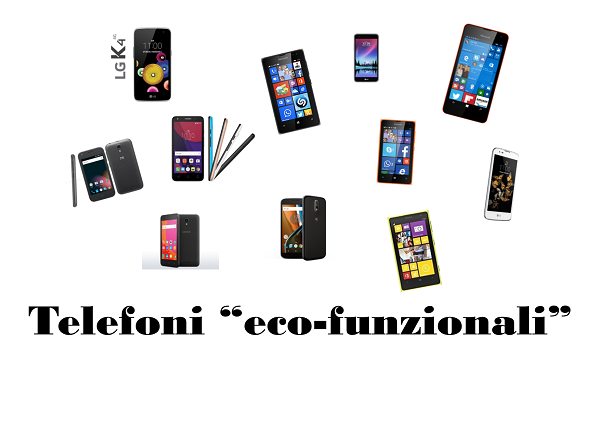 Smartphone economici e funzionali