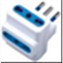 MACH POWER ADATTATORE TRIPLO SPINA 16A 2P+T - 3 PRESE 10/16A BIANCA MP-SA1026