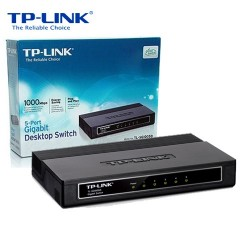 SWITCH DESKTOP 5 PORTE GIGABIT 10/100/1000MBPS TP-LINK TL-SG1005D