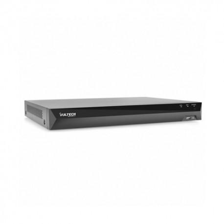 NVR 8 CANALI POE VULTECH VS-NVR8508-POE-UHD FINO A 5MPX H.264 HDMI P2P CLOUD 1 HDD ALARM