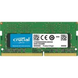 RAM PER NOTEBOOK SO-DIMM DDR4 CRUCIAL DA 4GB CL17 2400MHz CT4G4SFS824A