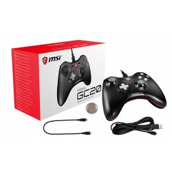 GAMEPAD MSI JOYSTICK GAMING FORCE GC20 BLACK MICROSTAR