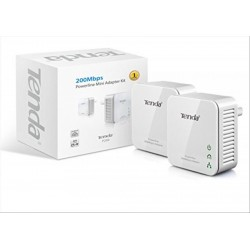 POWERLINE TENDA KIT 2 MINI ADAPTER UP TO 200MBPS