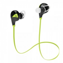 VULTECH AURICOLARI IN-EAR BLUETOOTH V4.0 CON MICROFONO - VERDE HD-06BTG