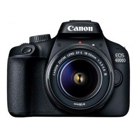 FOTOCAMERA CANON EOS 4000D + OTTICA S/N:21073070038440