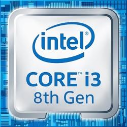 CPU BOX INTEL I3-8100 @3,20GHZ 6MB CACHE SKT FCLGA 1151 COFFEE LAKE (1151-V2) - NON COMPATIBILE CON MAINBOARD 1151 SKYLAKE E KAB