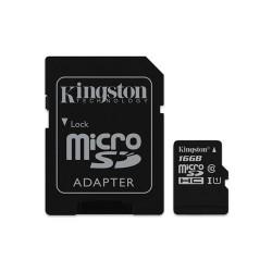 MEMORY CARD MICROSD 16GB UHS-I C10 KINGSTON CANVAS SELECT SDCS/16GB