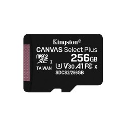 MEMORY CARD MICRO SD 256GB UHS-I C10 KINGSTON CANVAS SELECT SDCS2/256GB