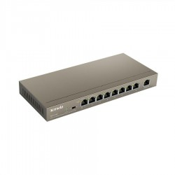 SWITCH TENDA 9 PORTE 10/100 PoE 63W