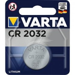 BATTERIE TAMPONE VARTA 1PZ CR2032 LITIO