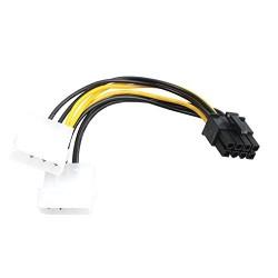 ADATTATORE ALIMENTAZIONE DA MOLEX A PCI-E 8 PIN VULTECH