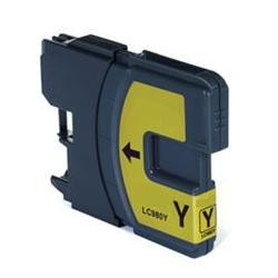 CARTUCCIA COMPATIBILE BROTHER LC980/1100 GIALLO