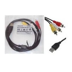 CAVO USB TO RCA 1,5MT LINQ MODELLO: UR15