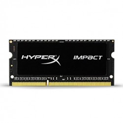 RAM SO-DIMM DDR3L 1600MHZ 4GB C9 KINGSTON HYPERX HX316LS9IB/4