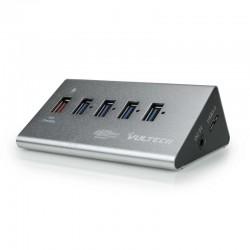 HUB MULTIPRESA USB 3,0 VULTECH HU-05USB3