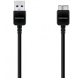 CAVO USB 1,5 MT NERO ORIGINALE SAMSUNG NOTE 3