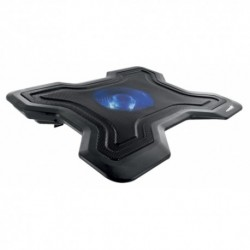MACHPOWER NOTEBOOK STAND COOLING PAD CON VENTOLA 12CM E LED NB-CP-5218