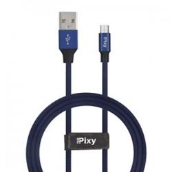 CAVO DATI E ALIMENTAZIONE MICRO USB 1,2M BLU PIXY PCV-M10BL