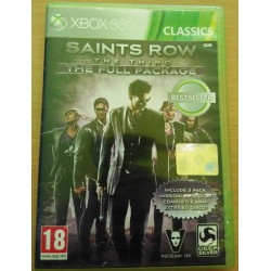 SAINT ROW THE THIRD XBOX360