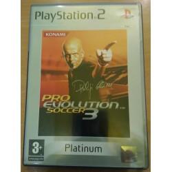 PRO EVOLUTION SOCCER 3PLAYSTATION 2