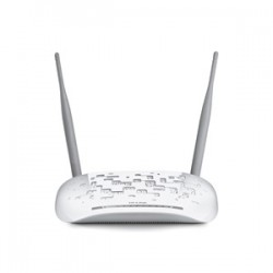 MODEM ROUTER ADSL2+ WIRELESS N 300MBPS 4*ETHERNET 1*USB TP-LINK TD-W8968