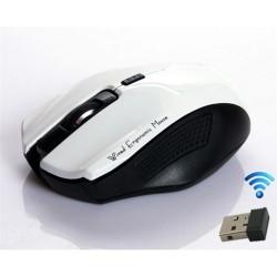 MACH POWER MOUSE OTTICO 1600DPI WIRELESS 2,4GHz CON MINI RICEVITORE USB MOD. Q4 WHITE