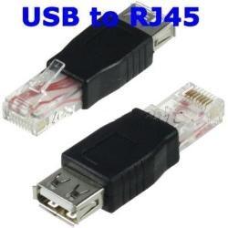 ADATTATORE USB2.0 FEMMINA A RJ45 MEDIAKING