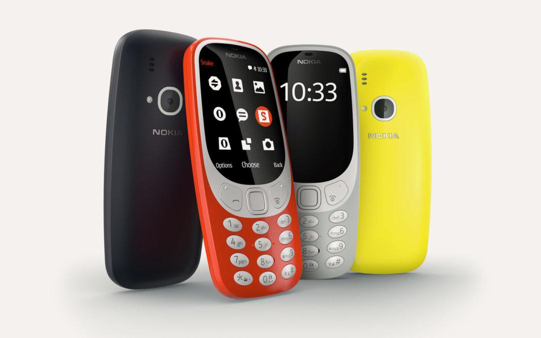 E' ritornato…. Nokia 3310
