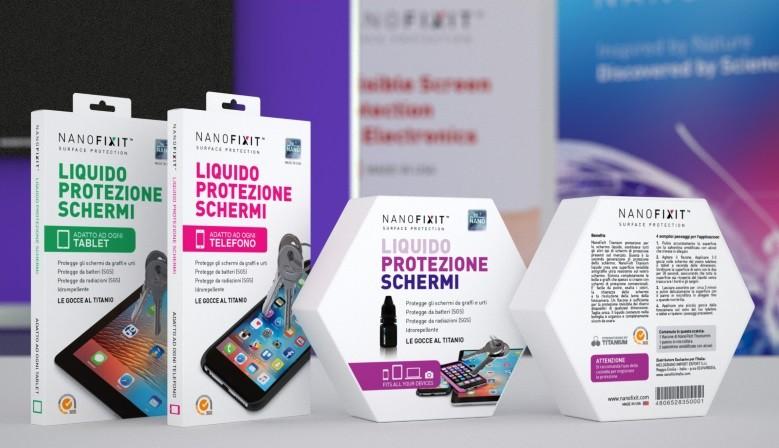 Liquido protezione schermi Nanofixit-